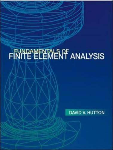 9780072922363: Fundamentals of Finite Element Analysis (Engineering Series)