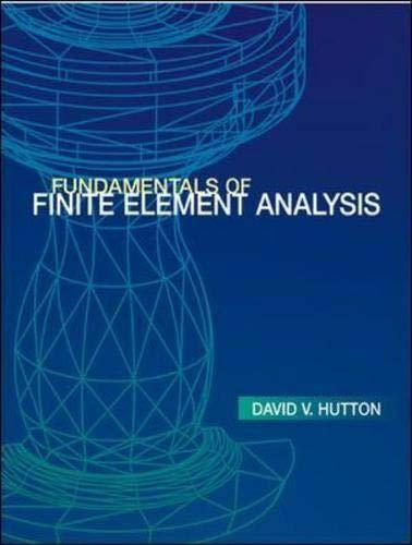 9780072922363: Fundamentals of Finite Element Analysis