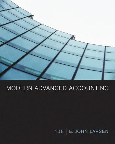 9780072922554: Modern Advanced Accounting