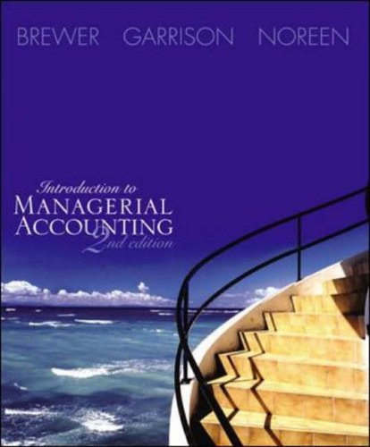 9780072922998: Introduction to Managerial Accounting: With Topic Tackler, Net Tutor & On-Line Learning Center W/Premium Content Card Package