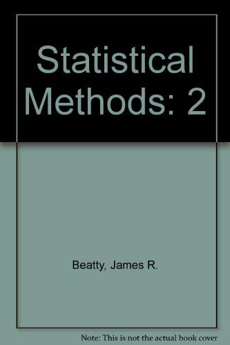 9780072924855: Statistical Methods, Vol. 2
