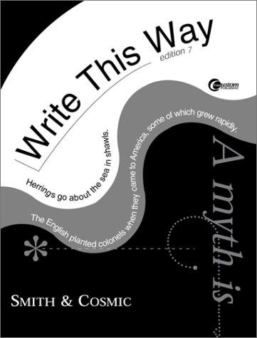 9780072924862: Write This Way