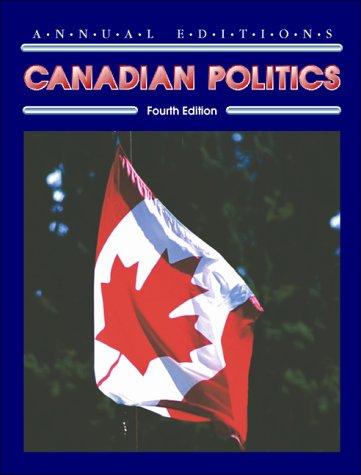 9780072925135: Canadian Politics