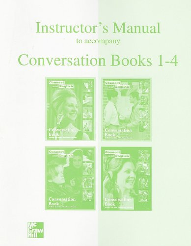 9780072927597: Connect with English Instructor's Manual to Accompany Conversation Books 1 - 4