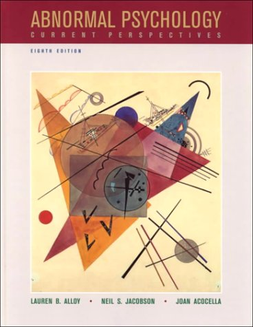 9780072928389: Abnormal Psychology: Current Perspectives, 8th