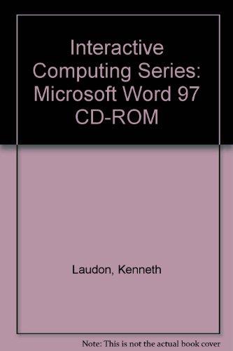 9780072929614: Interactive Computing Series: Microsoft Word 97 CD-ROM