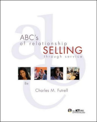 9780072930221: ABC's of Relationship Selling with Act! Express CD-Rom