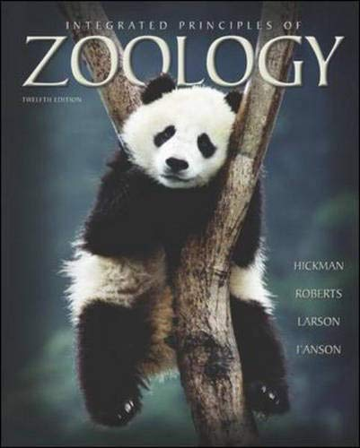 9780072930283: Integrated Principles of Zoology