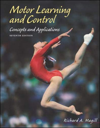 9780072930313: Motor Learning and Control: Concepts and Applications with PowerWeb/OLC Bind-in Passcard