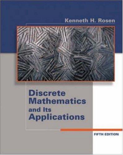 9780072930337: Discrete Mathematics and Its Applications