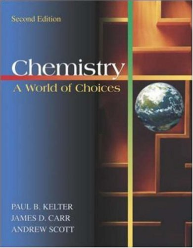 9780072930405: Chemistry: A World of Choices with Online Learning Center