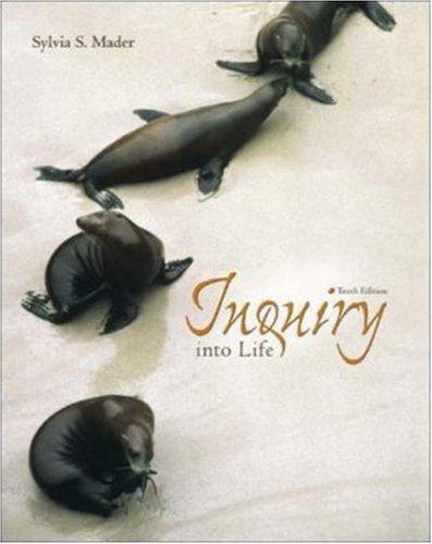 9780072930696: Inquiry into Life