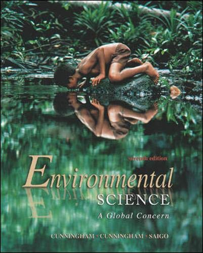Environmental Science A Global Concern (AP): William P Cunningham; Mary Ann Cunningham; Barbara ...