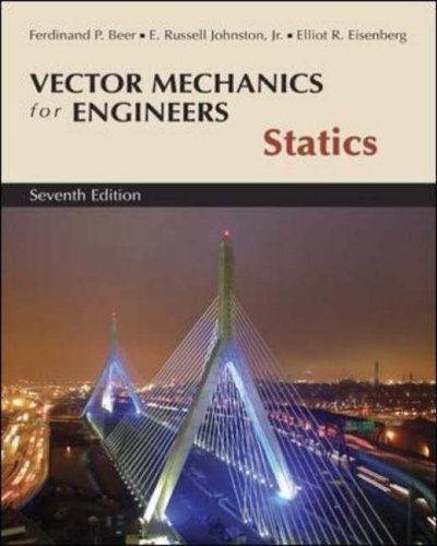 9780072930788: Vector Mechanics for Engineers, Statics