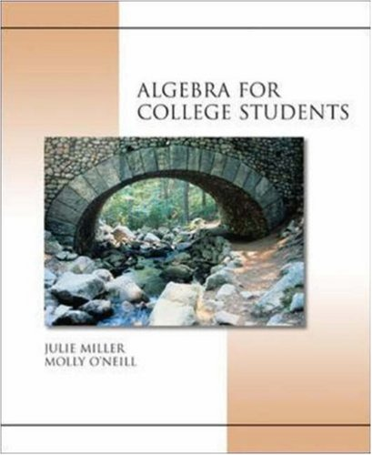 9780072931112: MP: Algebra for College Students w/ OLC Bind-In Card