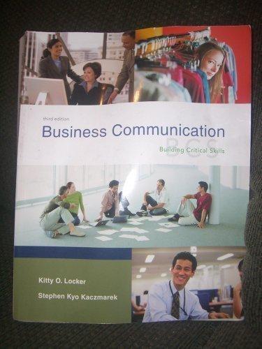 9780072932102: Business Communication