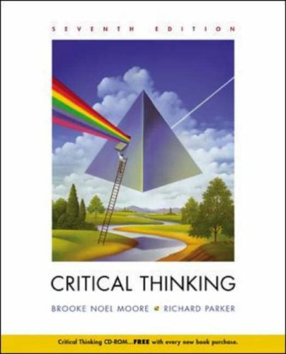 9780072932263: Critical Thinking with Free Student CD and PowerWeb: Critical Thinking