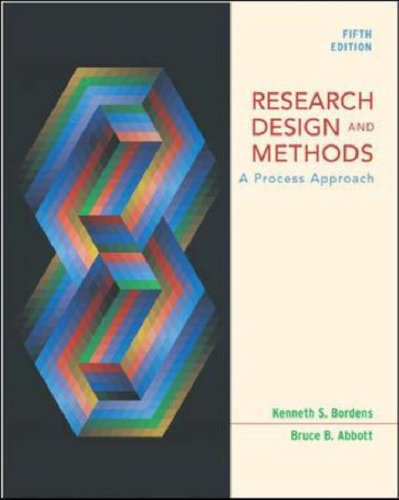 9780072932324: Research Design and Methods: With PowerWeb: A Process Approach