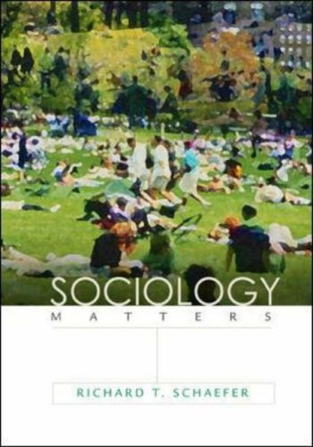 9780072932423: Sociology Matters with PowerWeb: AND PowerWeb