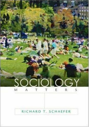 9780072932423: Sociology Matters with PowerWeb