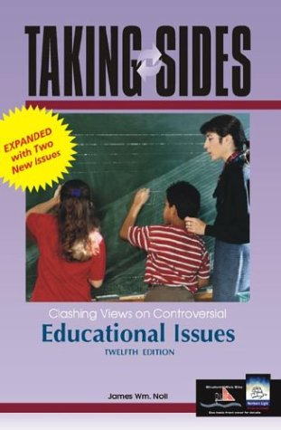 9780072933031: Taking Sides: Clashing Views on Controversial Educational Issues, 12th Edition (Rev. Ed.)