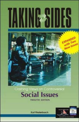 9780072933130: Taking Sides Social Issues