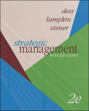 9780072933918: Strategic Management: Text and Cases