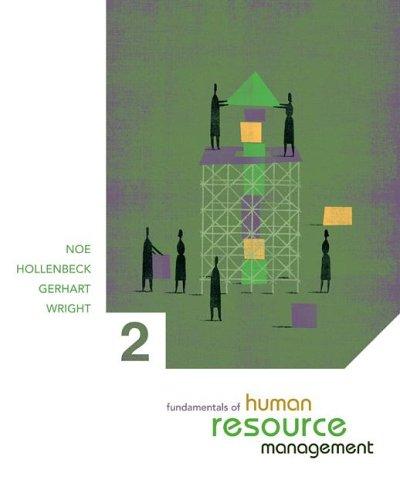 9780072934250: Fundamentals of Human Resource Management