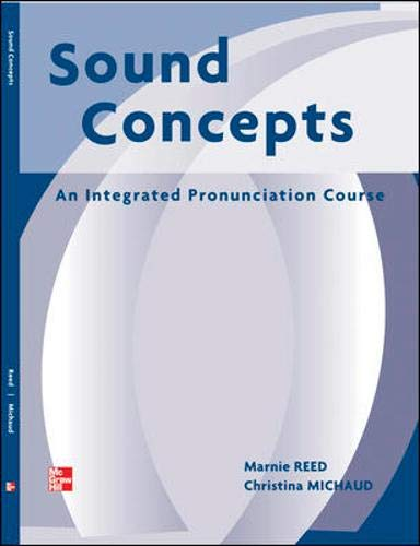 9780072934281: Sound Concepts: An Integrated Pronunciation Course (Student Book)