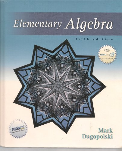 9780072934663: Elementary Algebra (5th Edition)