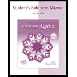 9780072934748: Student's Solutions Manual for use with Intermediate Algebra