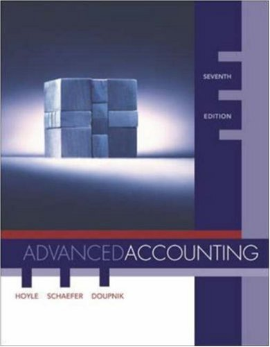 MP Advanced Accounting with Dynamic Accounting PowerWeb: Joe Ben Hoyle,