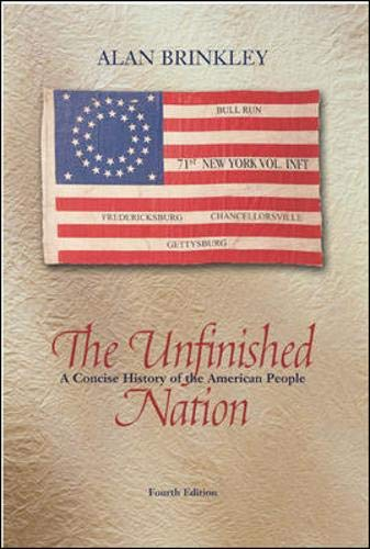 9780072935226: The Unfinished Nation, Combined, MP w/PowerWeb : A Concise History of the American People