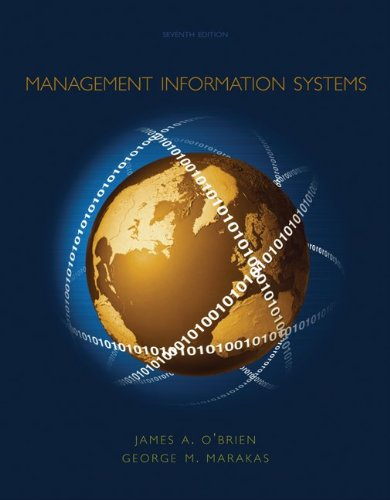 9780072935882: Management Information Systems