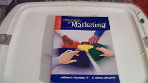 9780072935899: Essentials of Marketing: A Global-Managerial Approach (Mcgraw-Hill / Irwin Series in Marketing)