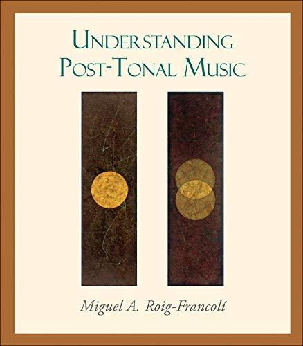 9780072936247: Understanding Post-Tonal Music
