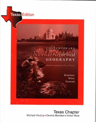 9780072936629: Contemporary World Regional Geography: Global Connections, Local Voices