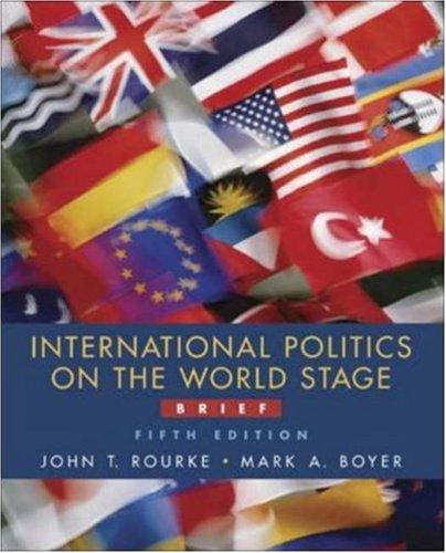 9780072936667: International Politics on the World Stage, Brief, MP w/PowerWeb