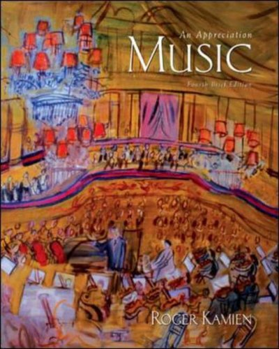 9780072936674: Music:An Appreciation Brief with v4.5 Multimedia Companion CD-ROM: Brief Edition
