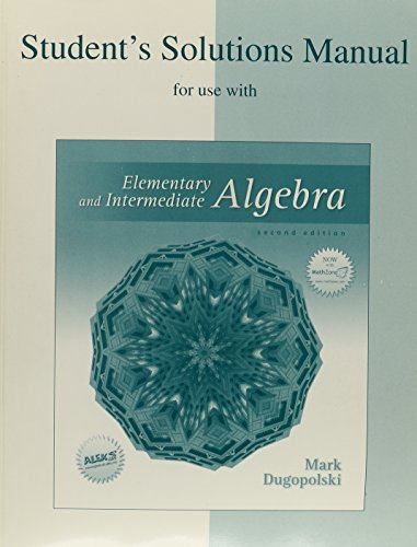 9780072936926: SSM/Elem & Interm Algebra