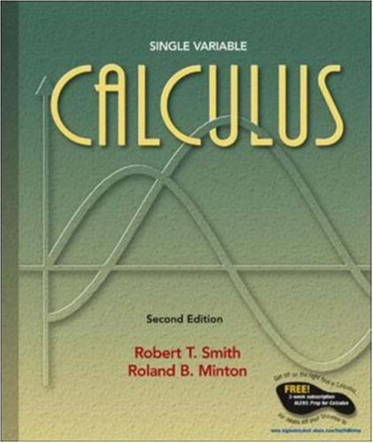 MP: Calculus Single Variable w/ OLC Bind-In: Robert T Smith,