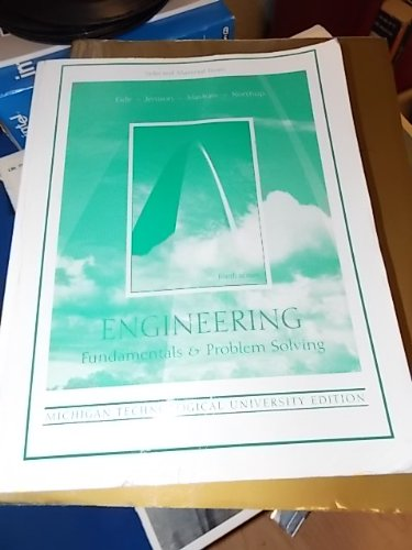 9780072937596: Engineering Fundamentals & Problem Solving (Engineering Fundamentals & Problem Solving)