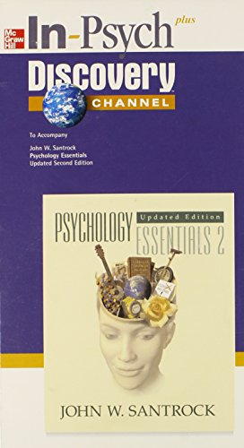 9780072937664: In-Psych CD-ROM to accompany Psychology: Essentials 2e Update