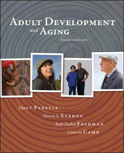 9780072937886: Adult Development and Aging