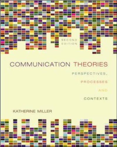 9780072937947: Communication Theories:  Perspectives, Processes, and Contexts