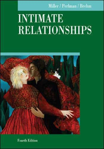 9780072938012: Intimate Relationships (McGraw-Hill Series in Social Psychology)