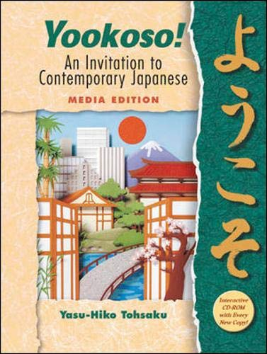 9780072938098: Yookoso! An Invitation to Contemporary Japanese Media Edition prepack with Student CD-ROM