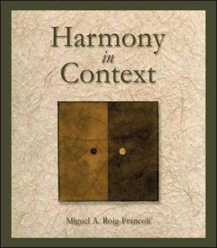 9780072938593: Harmony in Context