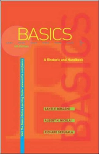 9780072938623: The Basics: A Rhetoric and Handbook with Catalyst access card