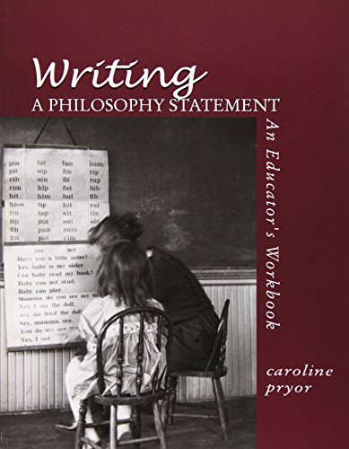 9780072939460: Writing a Philosophy Statement: An Educator's Workbook